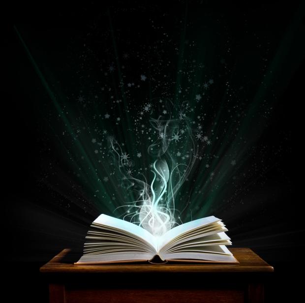 bigstock-Magic-Book-5034701