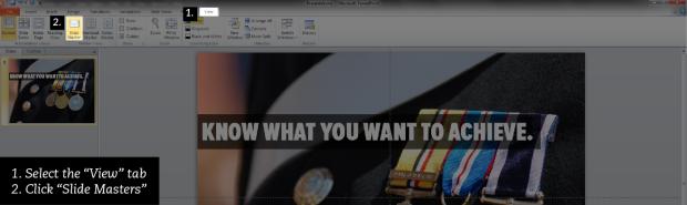 Delete master slides.