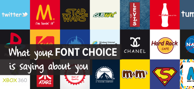 What Your Font Choice Is Saying About You | make a powerful