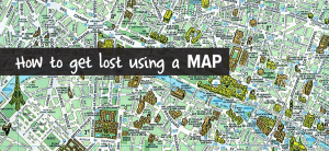 Blog post How to get lost using a MAP-01