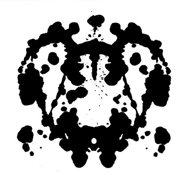 Psychology's Rorschach test records subjects' perceptions of inkblots and analyzed them using psychological interpretation, complex algorithms, or both. Some psychologists use this test to examine a person's personality characteristics and emotional functioning.
